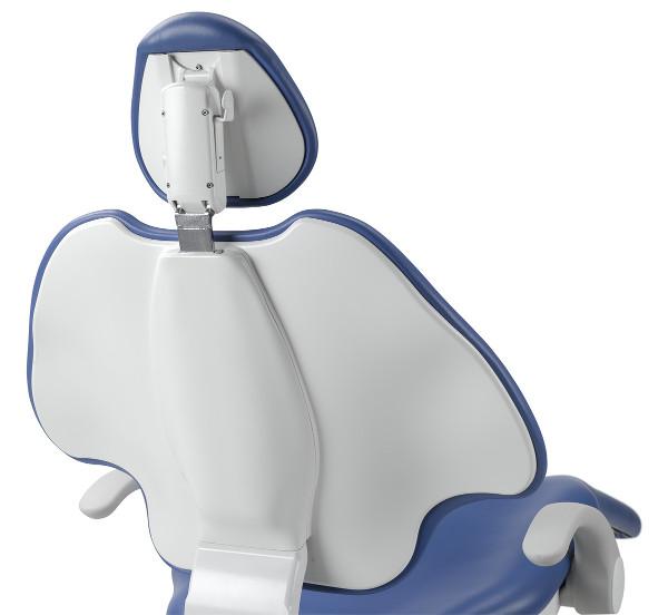 A-dec 500 Behandlungsstuhl Rückenlehne von hinten